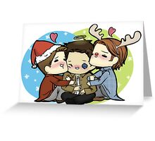 Team Free Will Hug - Christmas Edition Greeting Card