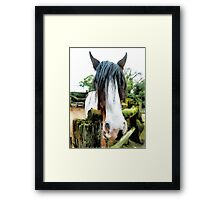 Bob Marley Reincarnated  Framed Print