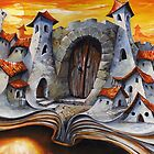 Fairy tale City - Goliath gate by Imre Toth (Emerico)