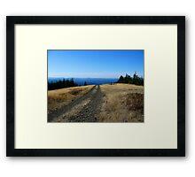 High Road Framed Print
