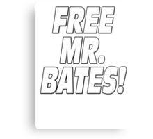 Free Mr. Bates Downton Abbey Metal Print