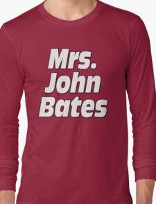 Mrs. John Bates Downton Abbey Long Sleeve T-Shirt