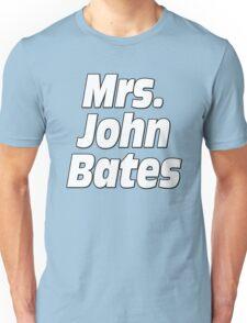 Mrs. John Bates Downton Abbey Unisex T-Shirt