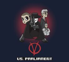 V vs. Parliament by GhostGlide