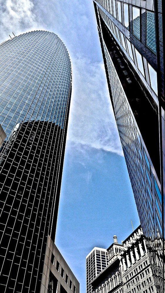 Looking On Up At Reflections by Scott Johnson