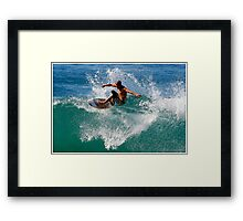 Float The Boat Framed Print