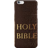 The Holy Bible [iPhone iPod Case/Skin] iPhone Case/Skin