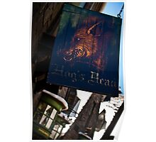 Hogsmeade's Hog's Head Poster