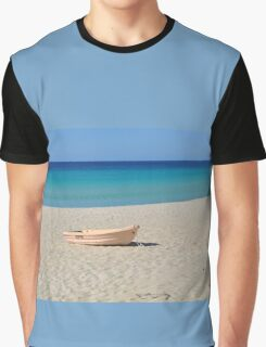 A BOAT Graphic T-Shirt