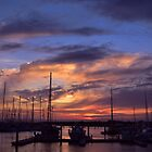 Sunset at Scarborough by MissChezz