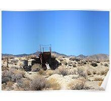 Desert Mining Poster