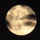 clouded full moon... by kangarookid