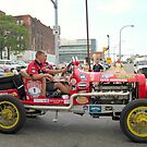 1916 Hudson in Buffalo during the 2012 Great Race by Ray Vaughan
