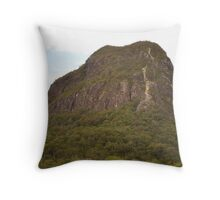 Glasshouse Mountain Throw Pillow