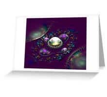 Gem Eruption Greeting Card