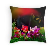 Flash - of Color! Throw Pillow