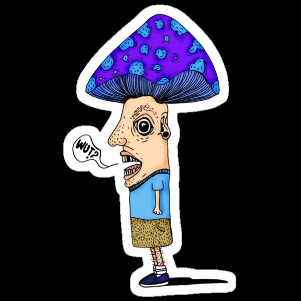 Mushroom boy by Octavio Velazquez