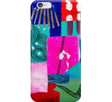 Pink Sunset Collage  iPhone Case/Skin