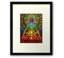 Kundalini digital - 2012 Framed Print