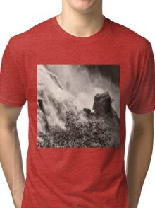 Rocks in the raging waters Tri-blend T-Shirt