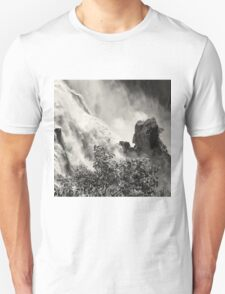 Rocks in the raging waters T-Shirt