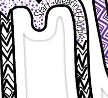 Aztec JMU Sticker