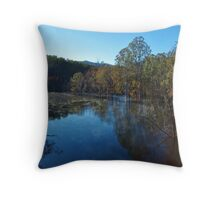 Nerang River Early Morning Throw Pillow