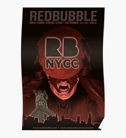 Redbubble invades NYCC Poster
