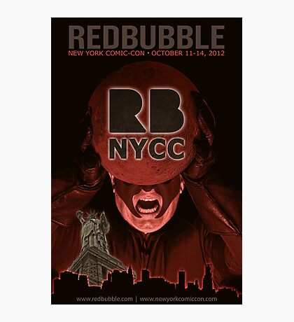 Redbubble invades NYCC Photographic Print