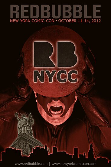 Redbubble invades NYCC by Randy Turnbow