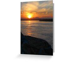 Sunset - Port Macquarie Greeting Card