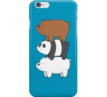 We Bare Bears iPhone Case/Skin