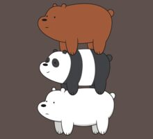 We Bare Bears Kids Clothes