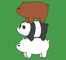 We Bare Bears Kids Tee