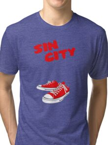 Sin City Converse Tri-blend T-Shirt