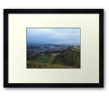 View of Edinburgh, Scotland Framed Print