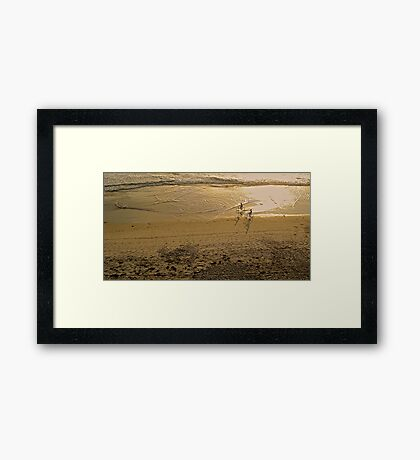 Ponto Beach  Framed Print
