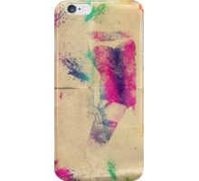 Splatter girl iPhone Case/Skin