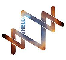 HELiX i-Phone Case (Blue/Bronze) by HELiXClothing