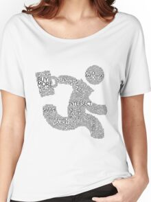 Versus (White) Women's Relaxed Fit T-Shirt