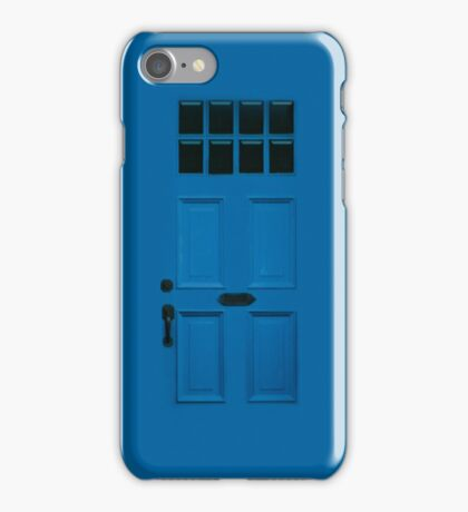 Blue Door, Apple iphone 4 4s, iPhone 3Gs, iPod Touch  iPhone Case/Skin