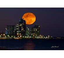 Full Moon Rising, Gold Coast, Queensland, Australia Photographic Print