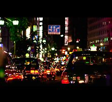 tokyo traffic by fontina