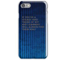 Ravenclaw quote iPhone Case/Skin