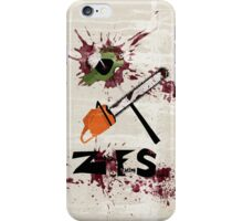 Zombie Fighting Squad iPhone Case/Skin
