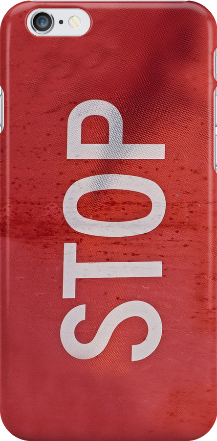 Road Sign #2 - STOP, Apple iphone 4 4s, iPhone 3Gs, iPod Touch by lapart