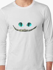 Creepy chestier smile  Long Sleeve T-Shirt