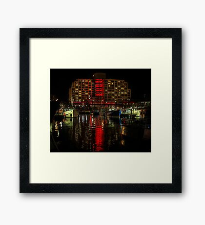 Dark MOFO Framed Print