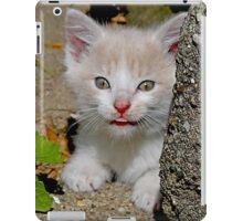 Sticking Her Tongue Out iPad Case/Skin