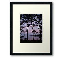 Smith's Lake, Central Coast, Australia Framed Print